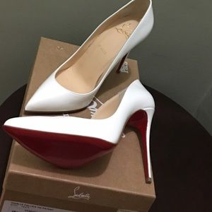 Brand new Christian loub. pigalle follies size 38